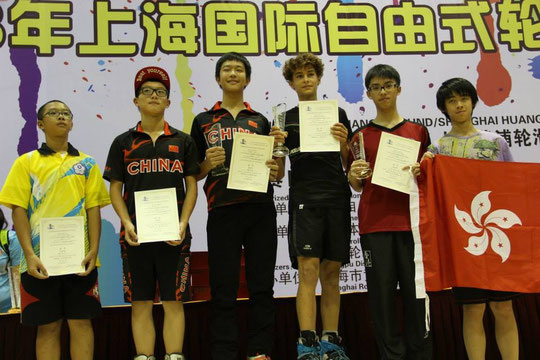 Junior Men Speed Podium - Photo : Guan Lin
