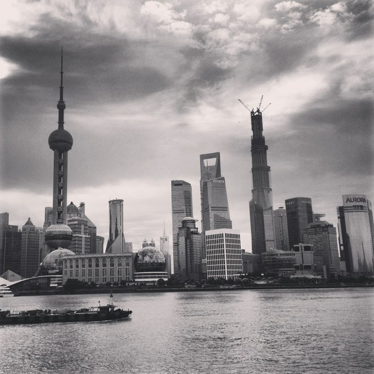The Bund - Photo : S.Laffargue