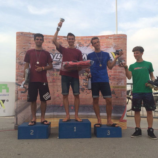 Classic Men's podium / Credit : Klaudia Hartmanis