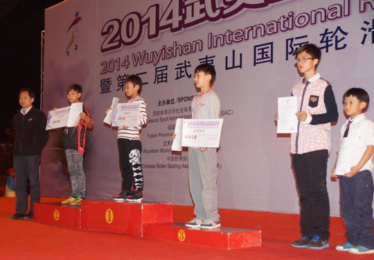 Classic Junior Men podium by Chiu Yin-Hsuan