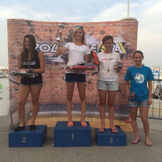 Classic Women's podium / Credit : Klaudia Hartmanis