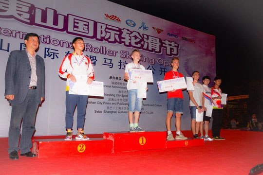 Classic Senior Men podium by Chiu Yin-Hsuan