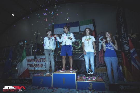 Speed Slalom Senior Women. Credit : Anthony Finocchiaro