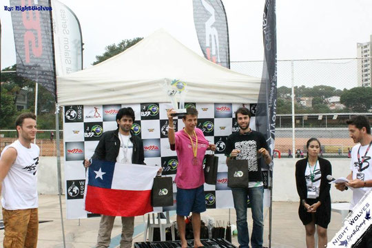 Speed Slalom Men's podium by Nightwolves