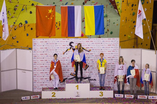 Classic Senior Women Podium by Ksenija Komarchuk