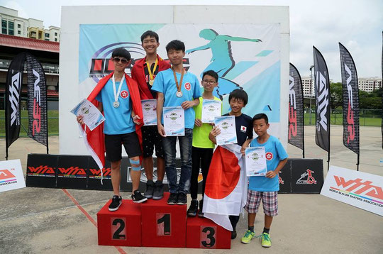 Junior Men Freestyle Classic podium by Carroll Wong