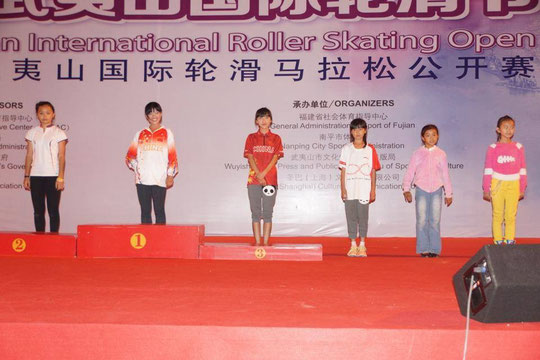Classic Junior Women podium by Chiu Yin-Hsuan