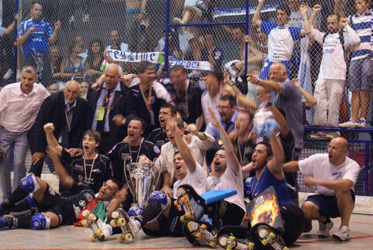 08-06-2010 Follonica-Valdagno 3-5 Gara 4 Finale Scudetto - Valdagno Campione d'Italia
