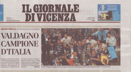 Giornale di Vicenza - 09 Giugno 2010