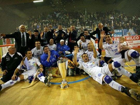28-09-2010 Valdagno-Follonica 5-3 - Valdagno vince la Supercoppa Italiana
