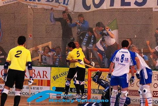 20-04-2008 Finale Coppa Cers 2007-2008 Tenerife-Valdagno 6-5 dopo i tiri di rigore