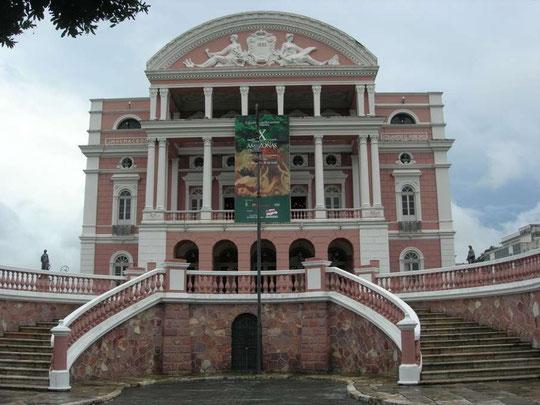 Manaus - Opernhaus Teatro Amazonas