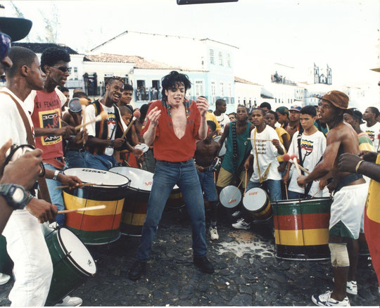 Michael Jackson in Salvador do Bahia