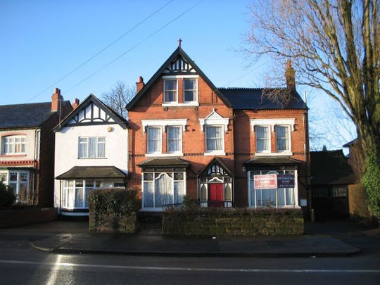 Hillcrest, Stratford Road, Hall Green, home of James Perceval