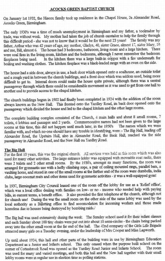 Hiscox history page 1