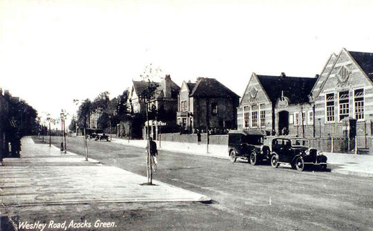 School buildings at Westley Road, c. 1930