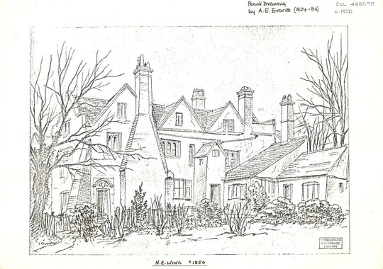 Drawing by A.E. Everitt (Birmingham Libraries)