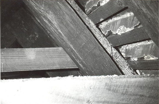 1. Carpenters' numbers on roof timbers