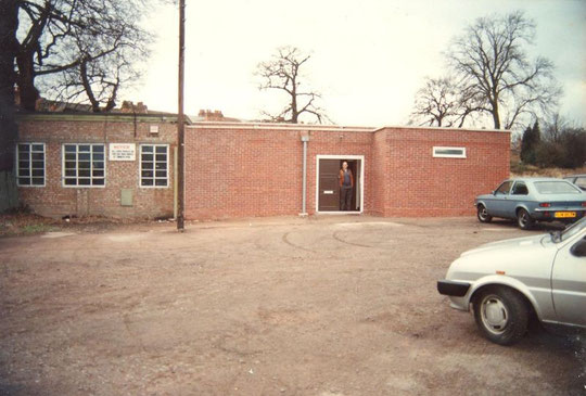 The entrance, 15th January 1989