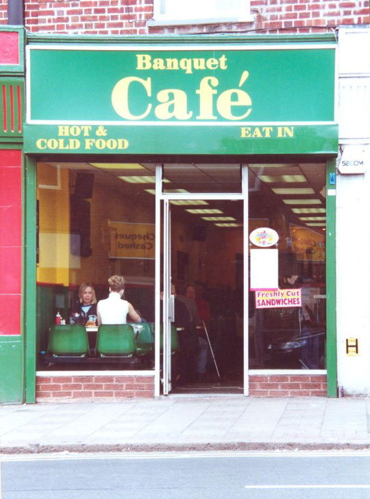 The Banquet Cafe at 1140 when new, c. 1999 (Christopher Christou)
