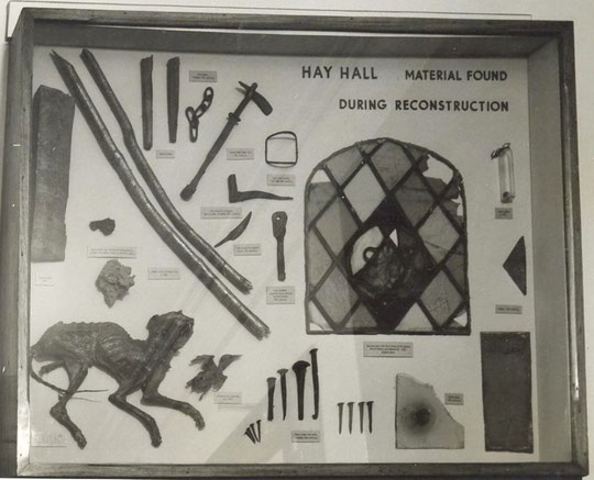 Exhibition case (via K. Sprayson)