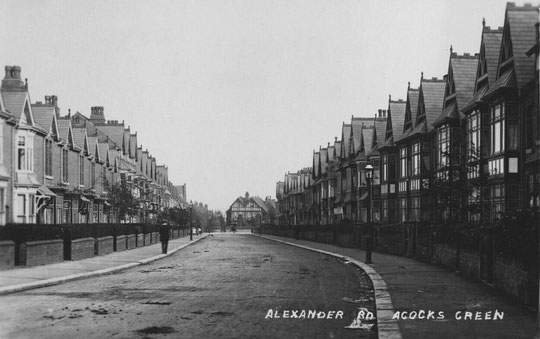 Alexander Road looking towards Yardley Road (Birmingham Libraries)