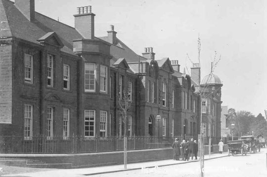 Acocks Green's new police station and courthouse, opened in 1910
