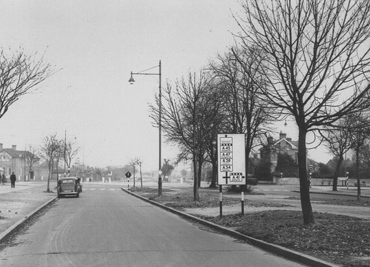 Fox Hollies Road in the 1950s (Birmingham Libraries)
