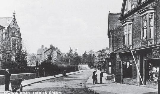 Station Road, c. 1905