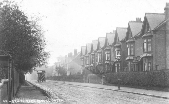 Williams and Boddy houses north of Flint Green Road, c. 1905 (thanks to Peter White)