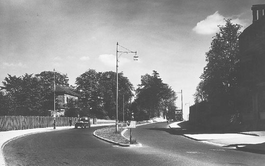 The widened road in 1939 (Birmingham Libraries)
