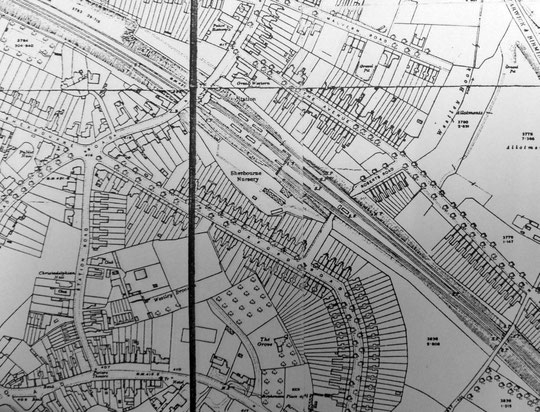 1916 O.S. 25 inch map extract