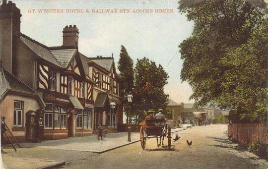 The original Great Western Inn c. 1905