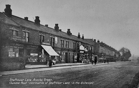 Shaftmoor Lane, c. 1930