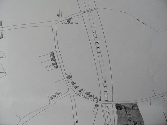 Extract from the Cook estate map, 1875 (Birmingham Libraries)