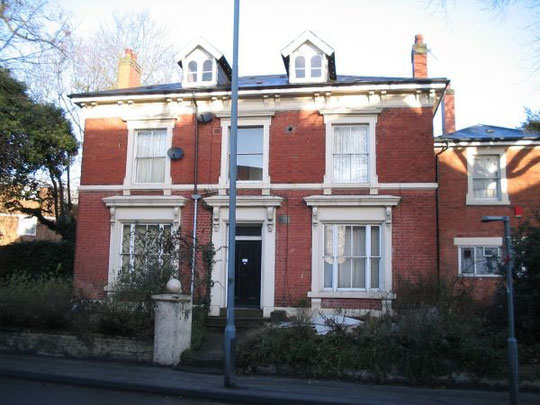 Westbourne House, Sherbourne Road, home of the Baxters