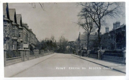Flint Green Road, c. 1905