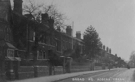 Postcard of Broad road c. 1905