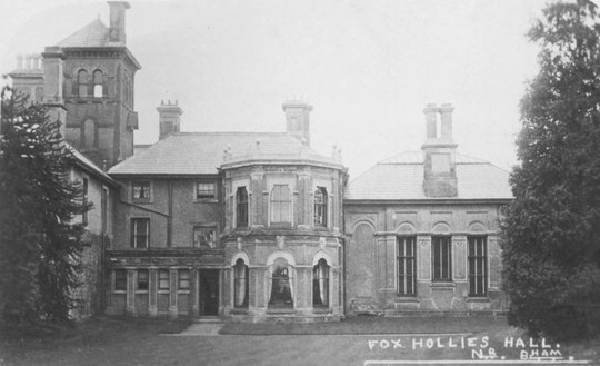 Fox Hollies Hall