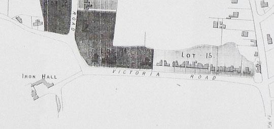 Cook Estate map 1875