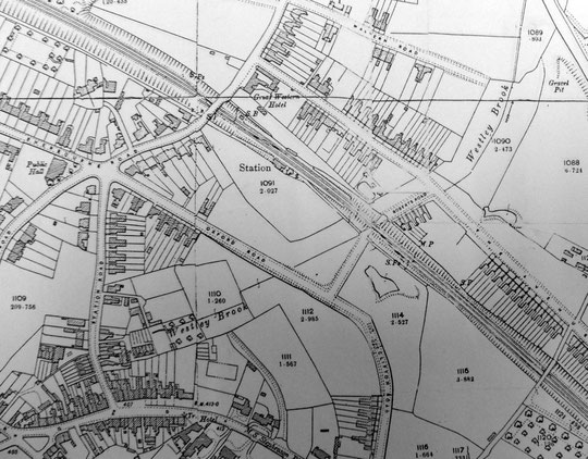 1904 O.S. 25 inch map extract
