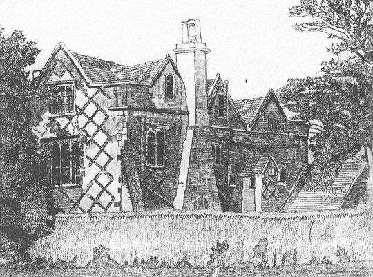 Drawing by E.W. Pitt 1932 (via K. Sprayson)