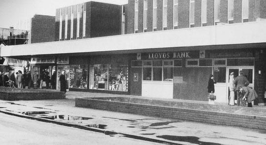 New shops, January 1976 (Mike Wood)