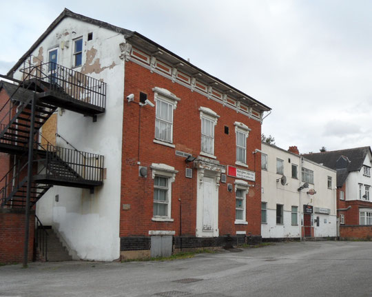 The British Legion club in 2011 (now demolished)