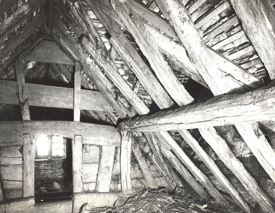 19. North east wing attic (not numbered on plan)