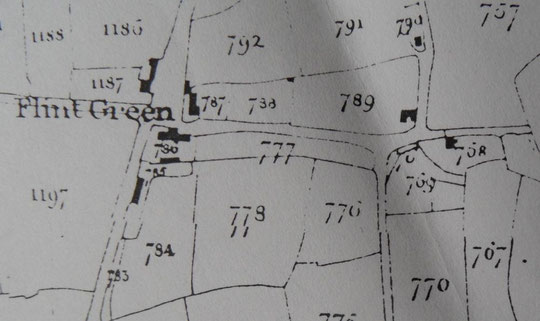 Tithe map extract, 1840s