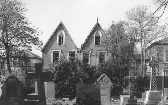 The Gothics, taken by Revd. Richard Postill in 1989