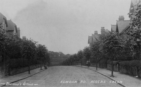Elmdon Road, c. 1905 (Peter White)