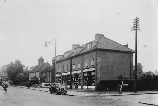 Warwick Road at Lincoln Road, 1951 (Birmingham Libraries)