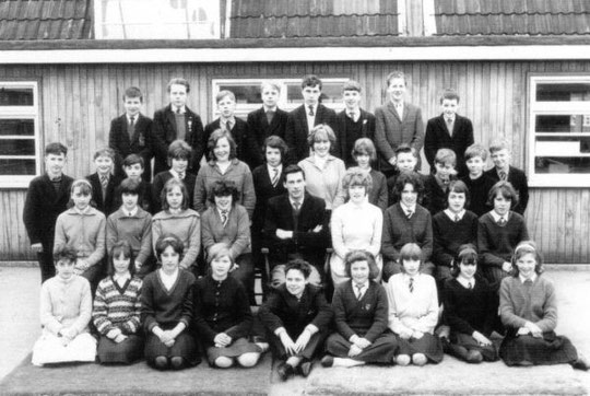 Second year, in class 2.1 - 1963/64